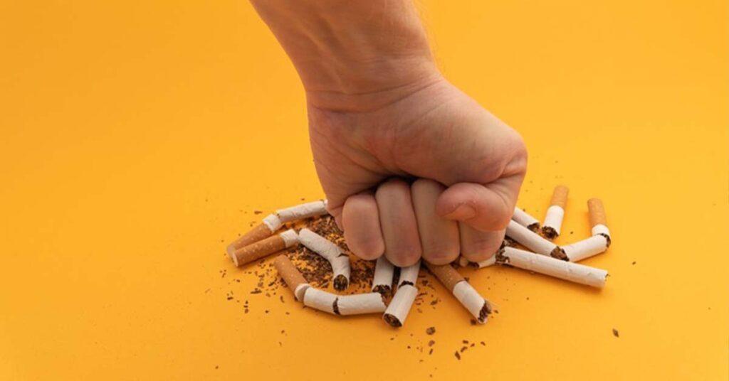 отказване цигари никорет
